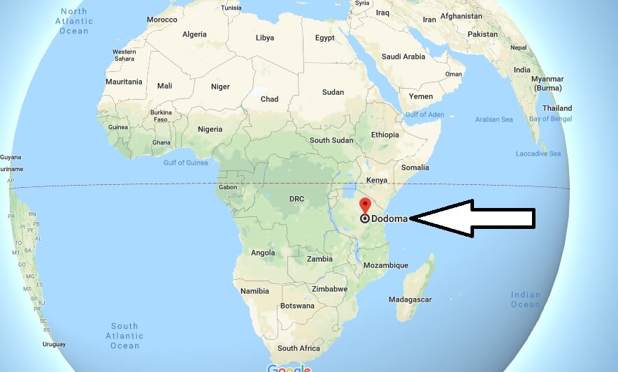 Where is Dodoma - What Country is Dodoma in - Dodoma Map