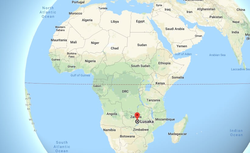 Where is Lusaka What Country is Lusaka in Lusaka Map
