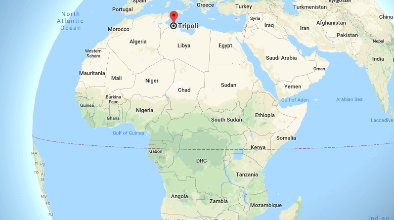 Where is Tripoli What Country is Tripoli in Tripoli Map