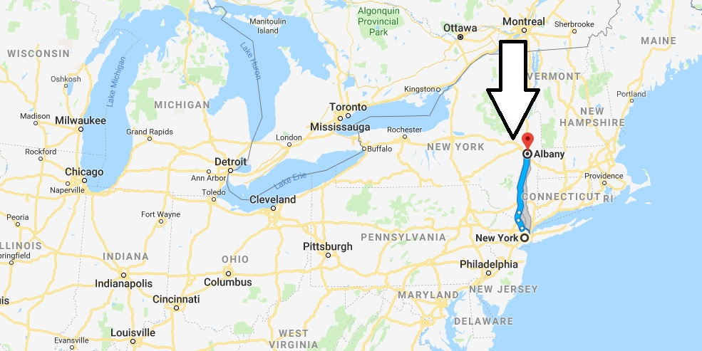 Where is Albany New York - What County is Albany