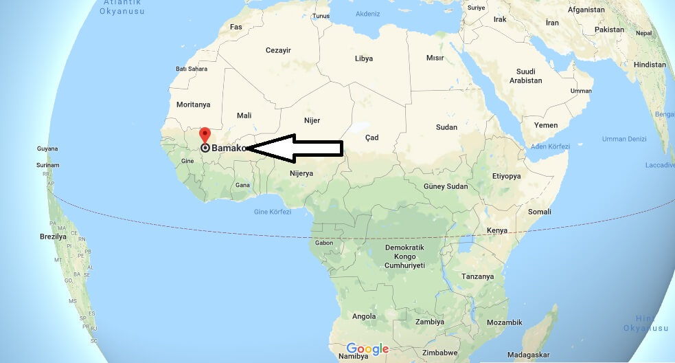 Where is Bamako What Country is Bamako in Bamako Map
