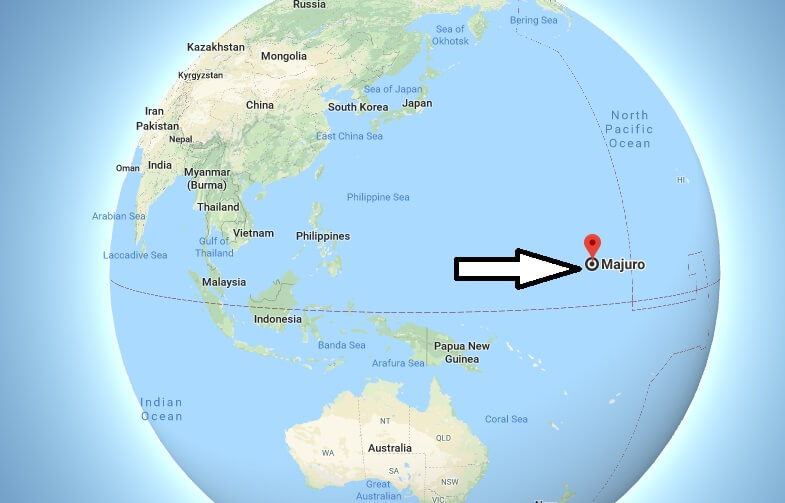 Where is Majuro What Country is Majuro in Majuro Map
