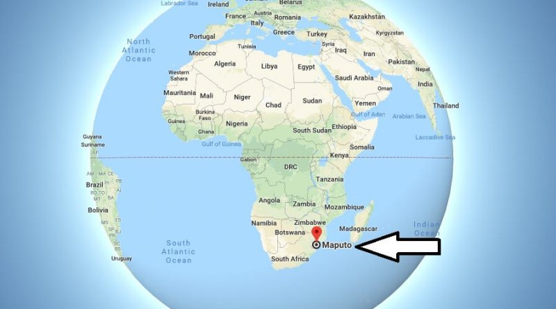 Where is Maputo - What Country is Maputo in - Maputo Map