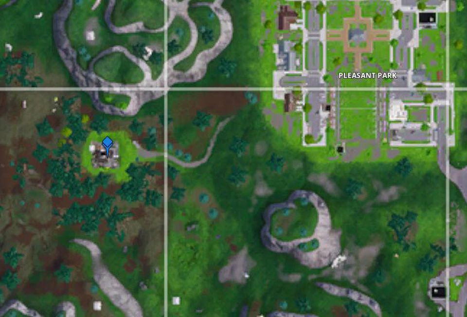 Where is the o west of pleasant park?