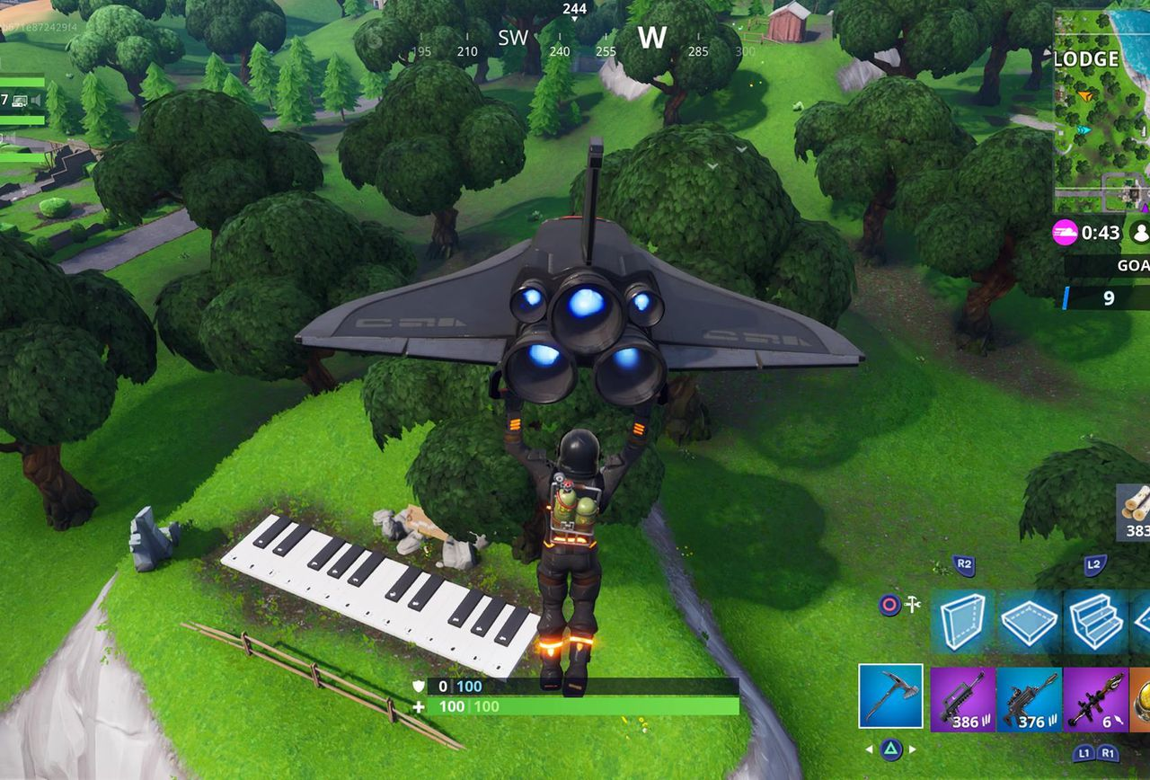 where is the piano near lonely lodge where is map. Black Bedroom Furniture Sets. Home Design Ideas