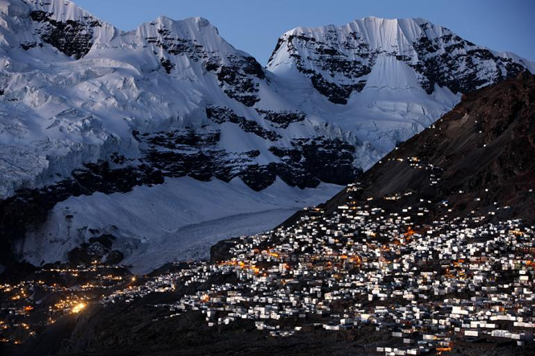 where is the world's highest inhabited city