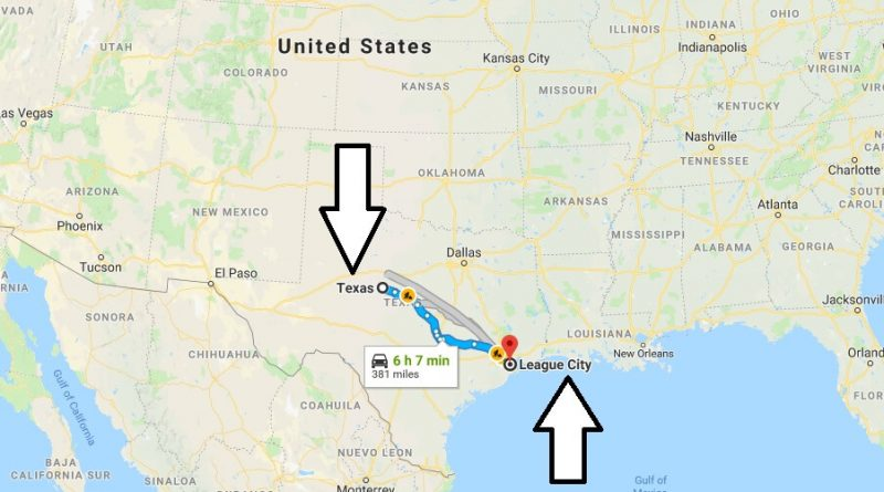Where is League City Texas (TX) Located Map? What County is League City?