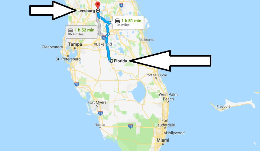 Where is Leesburg Florida (FL) Located Map? What County is Leesburg?