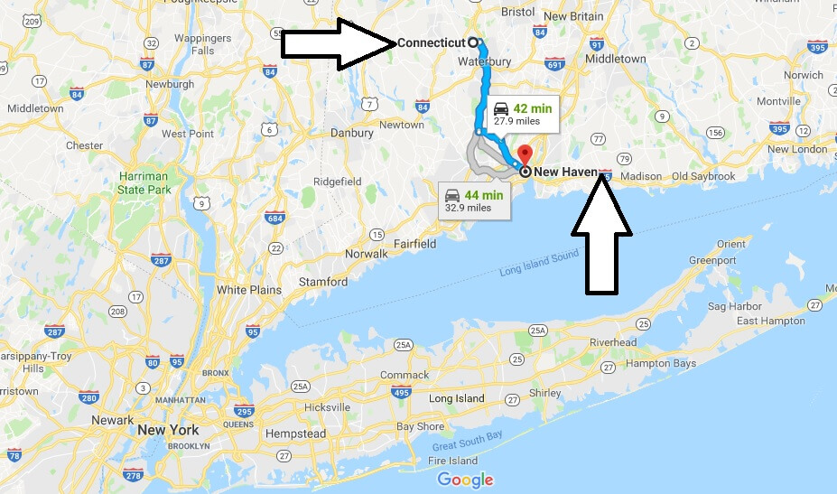 Where is New Haven Connecticut (CT) Located Map? What County is New Haven?