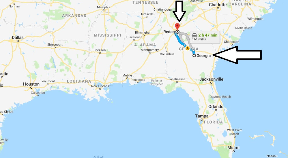 Where is Redan Georgia (GA), Located Map? What County is Redan?