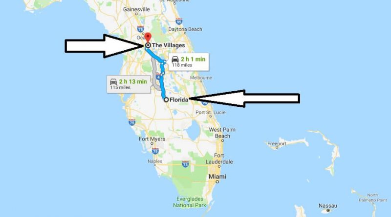 Where is The Villages Florida (FL), Located Map? What County is The Villages?