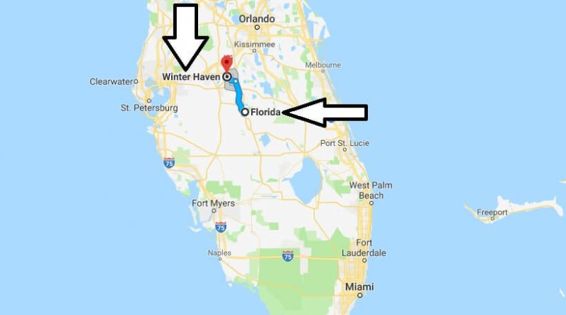 Where is Winter Haven Florida (FL), Located Map? What County is Winter Haven?