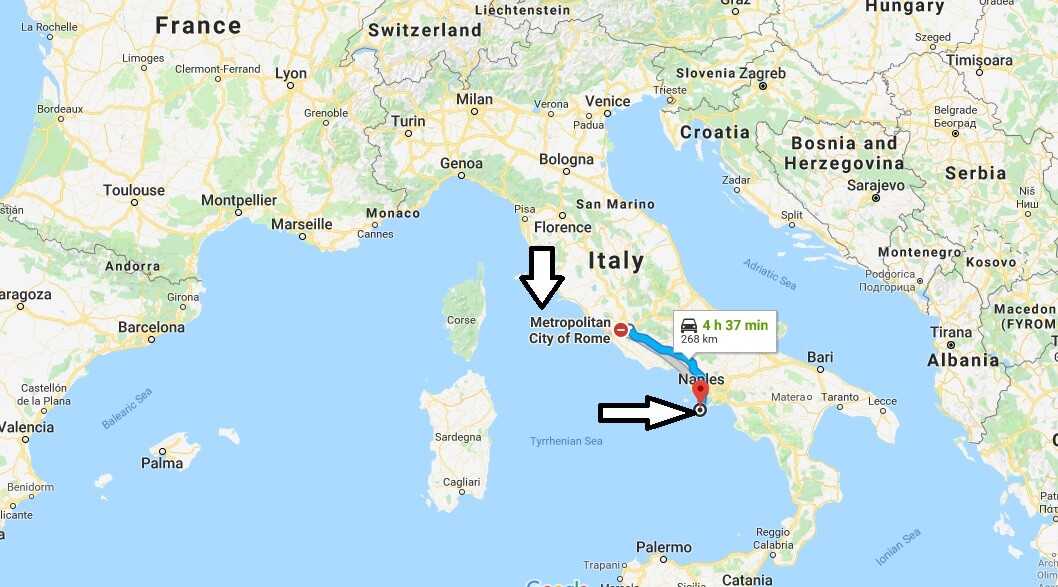 Where is Capri Italy Located Map? What County is Capri?