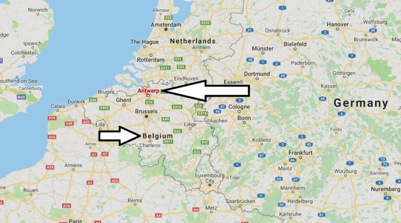 Where is Antwerp - What Country is Antwerp in - Antwerp Map