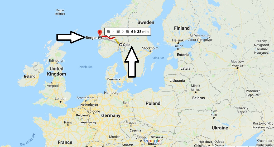 Where is Bergen? What Country is Bergen in? Bergen Map