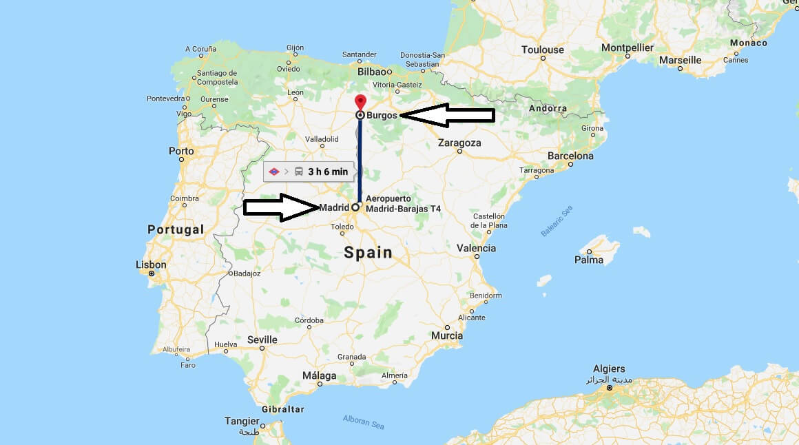 Where is Burgos? What Country is Burgos in? Burgos Map
