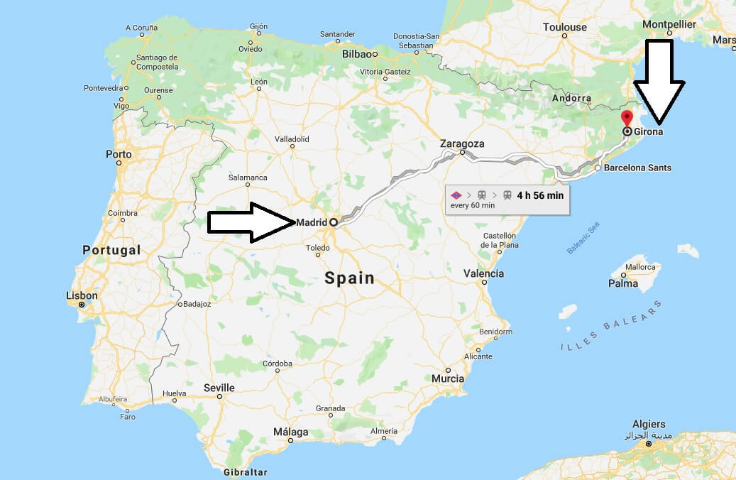 Where is Girona? What Country is Girona in? Girona Map