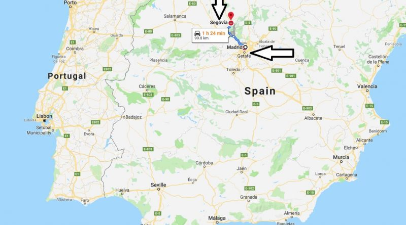 Where is Segovia? What Country is Segovia in? Segovia Map