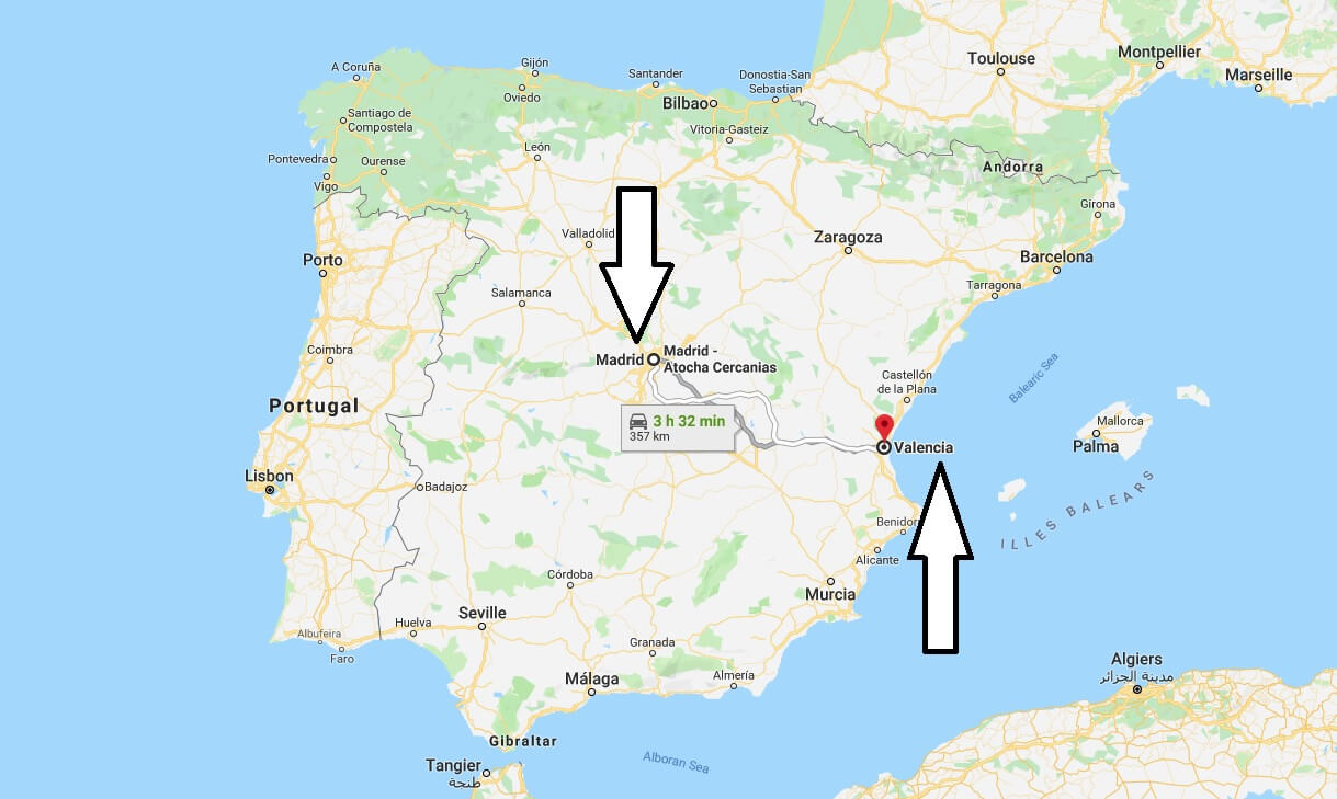 Where is Valencia - What Country is Valencia in - Valencia Map