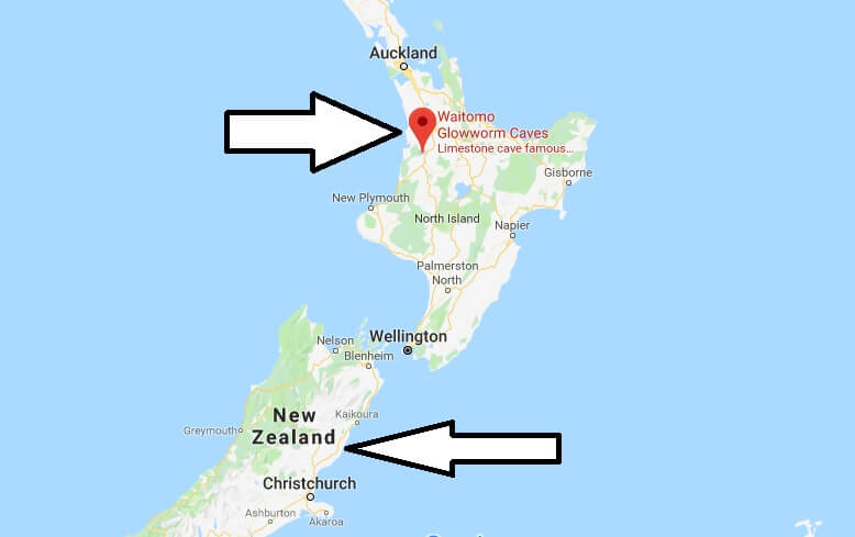 Where is Waitomo Glowworm Caves? What Country is Waitomo Glowworm Caves in? Waitomo Glowworm Caves Map