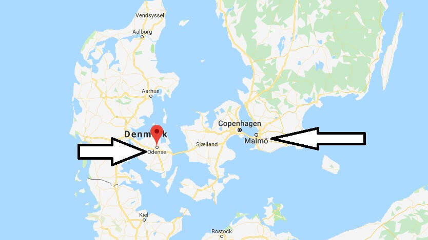 Where is Odense? What Country is Odense in? Odense Map