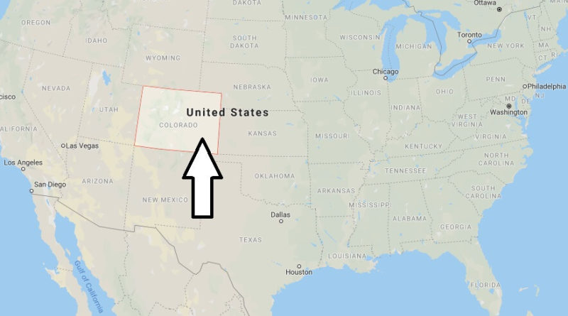 Where is Colorado? What Country is Colorado in? Colorado Map