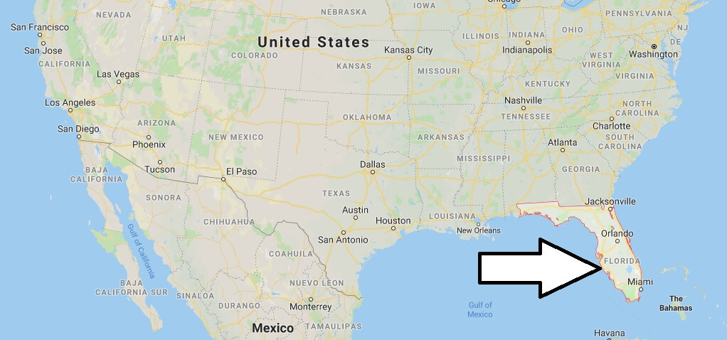 Where is Florida? What Country is Florida in? Florida Map