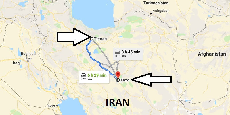 Where is Yazd? What Country is Yazd in? Yazd Map