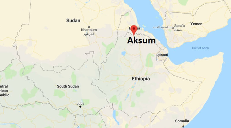 Where is Aksum? What Country is Aksum in? Aksum Map Located