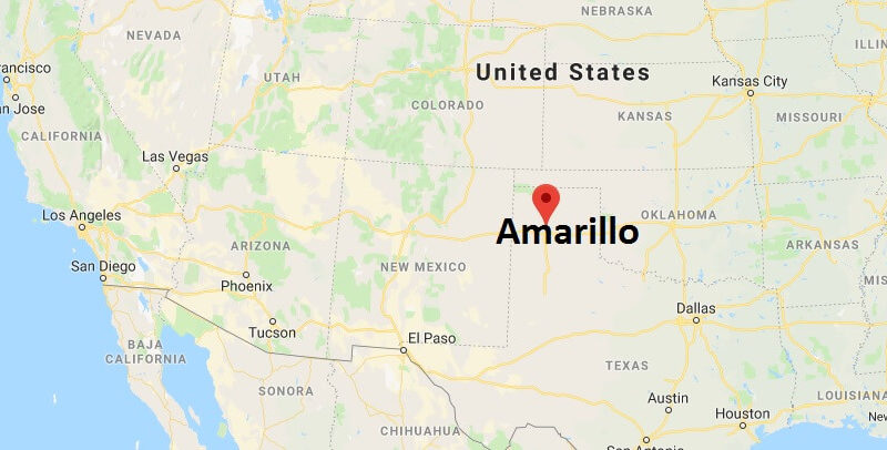 Where is Amarillo, Texas? What County is Amarillo? Amarillo Map Located