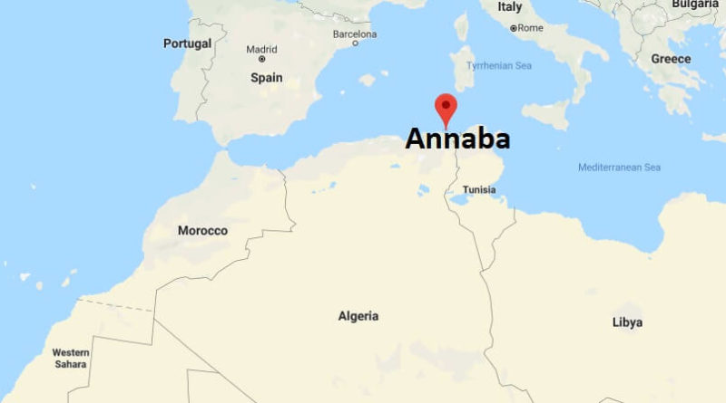 Where is Annaba? What Country is Annaba in? Annaba Map Located
