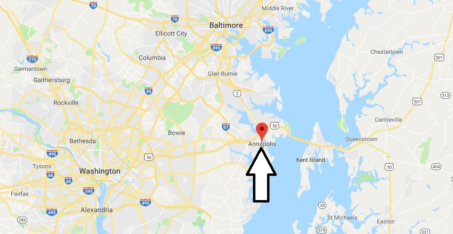 Where is Annapolis, Maryland? What County is Annapolis? Annapolis Map Located