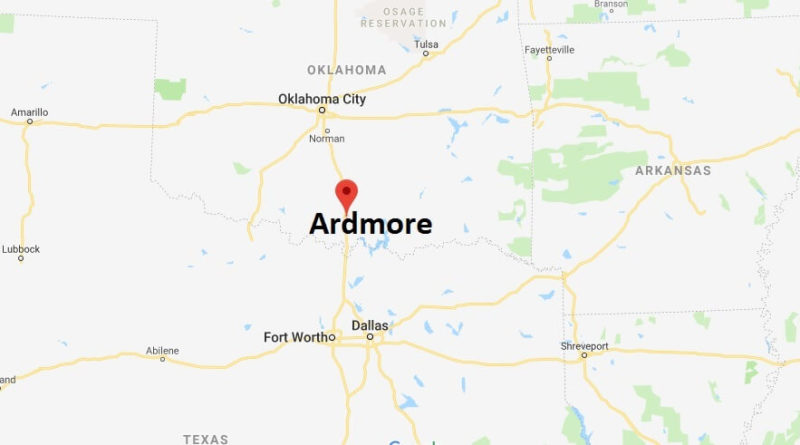 Where is Ardmore, Oklahoma? What County is Ardmore? Ardmore Map Located