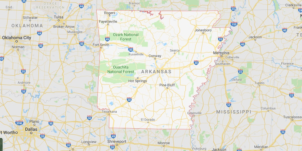 Where is Arkansas State? Where is Arkansas Located in The World? Arkansas state Map