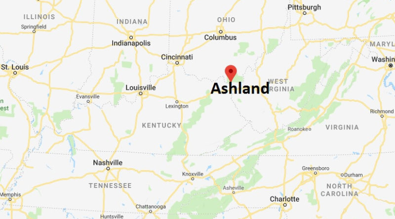 Where is Ashland, Kentucky? What County is Ashland? Ashland Map Located