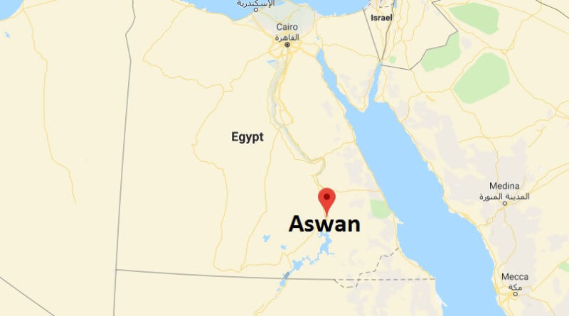 Where is Aswan - What Country is Aswan in - Aswan Map Located