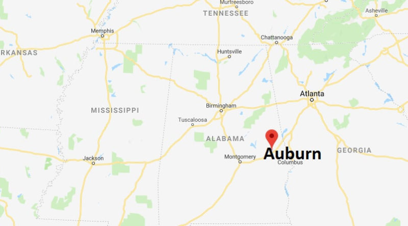 Where is Auburn, Alabama? What County is Auburn? Auburn Map Located