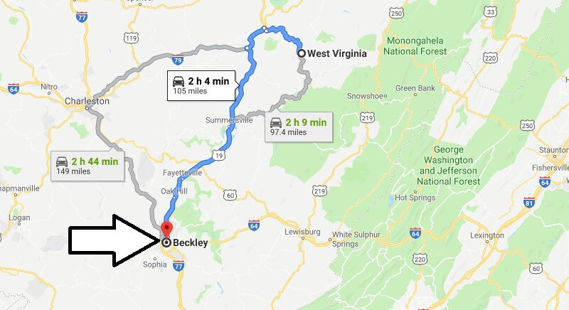 Where is Beckley, West Virginia? What County is Beckley? Beckley Map Located