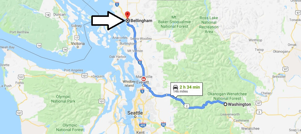 Where is Bellingham, Washington? What County is Bellingham? Bellingham Map Located