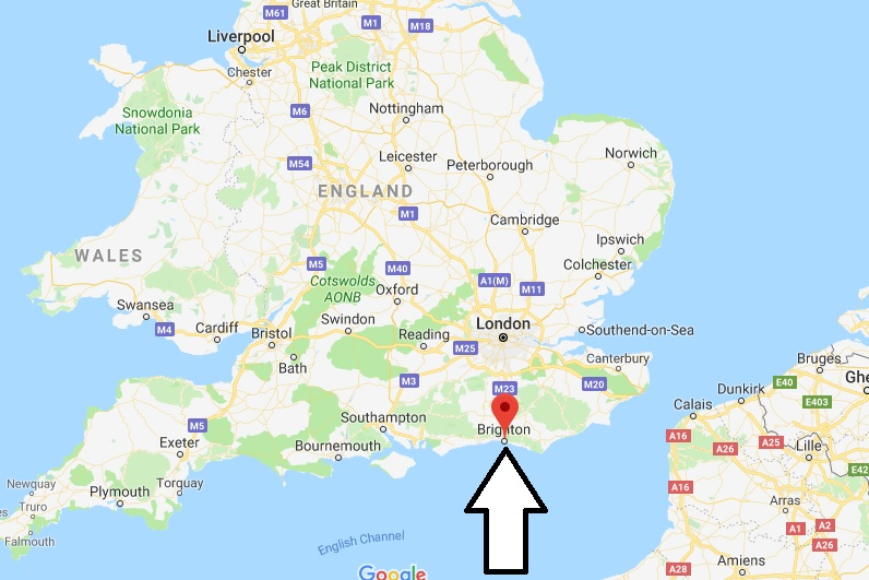 Where is Brighton - What Country is Brighton in - Brighton Map Located