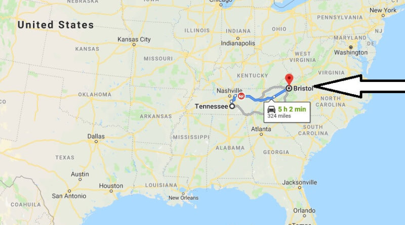 Where is Bristol, Tennessee? What County is Bristol? Bristol Map Located