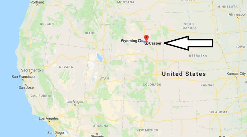 Where is Casper, Wyoming? What County is Casper? Casper Map Located
