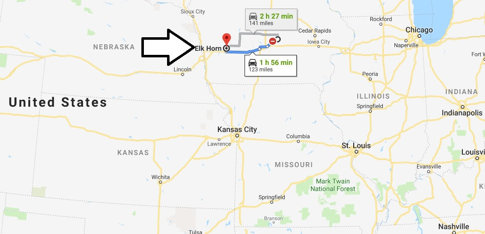 Where is Elk Horn, Iowa? What County is Elk Horn? Elk Horn Map Located
