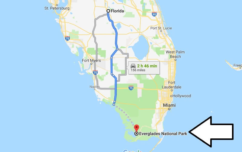 Where is Everglades National Park? What city is Everglades? How do I get to Everglades