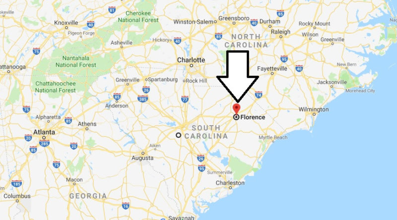Where is Florence, South Carolina? What County is Florence? Florence Map Located