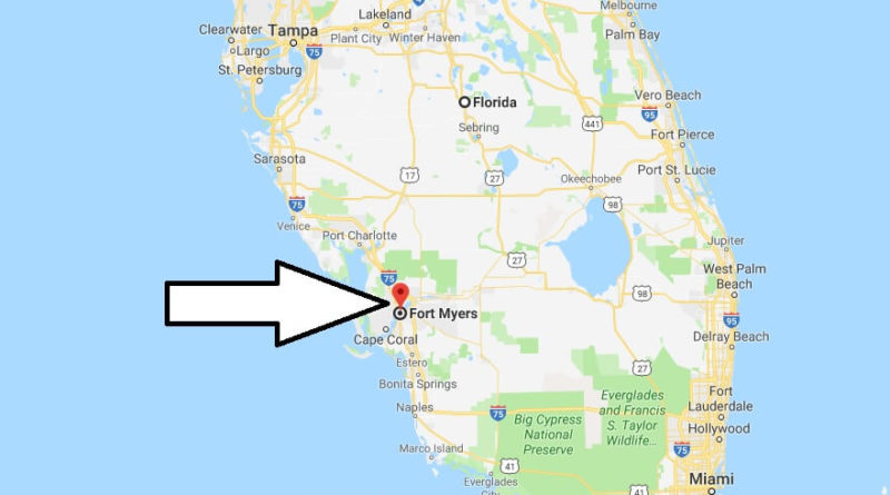 Where is Fort Myers, Florida? What County is Fort Myers? Fort Myers Map Located