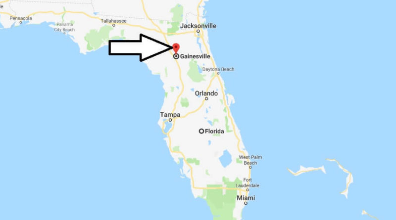Where is Gainesville, Florida? What County is Gainesville? Gainesville Map Located