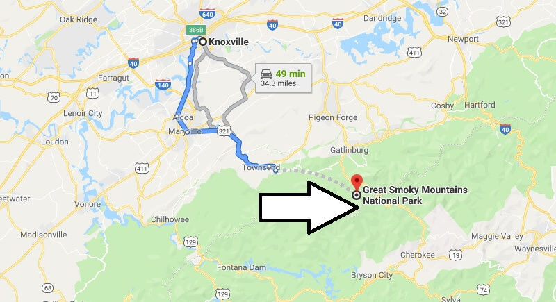 Where is Great Smoky Mountains National Park? What city is Great Smoky Mountains? How do I get to Great Smoky Mountains