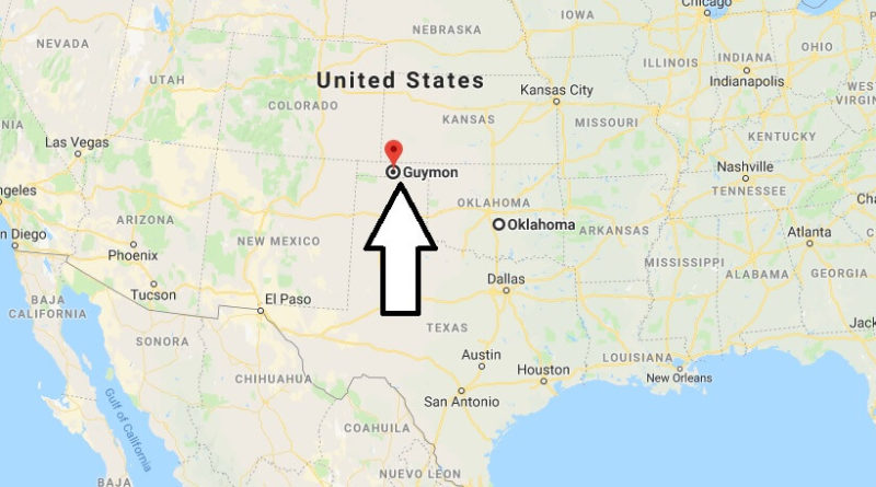 Where is Guymon, Oklahoma? What County is Guymon? Guymon Map Located