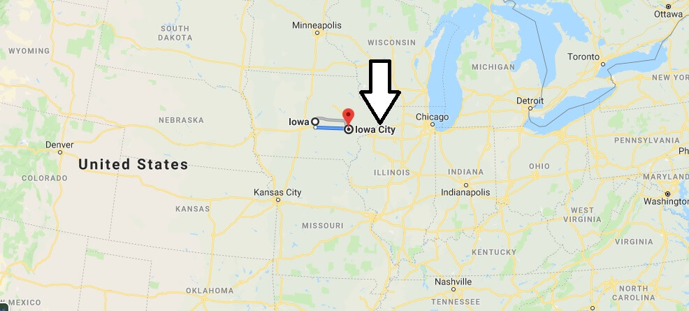 Where is Iowa City, Iowa? What County is Iowa City? Iowa City Map Located